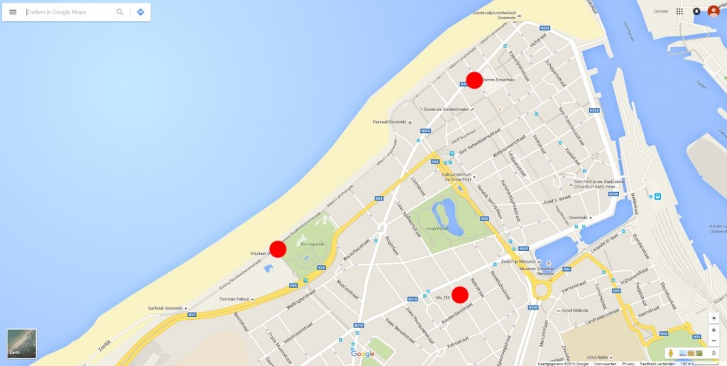Google kaart (Medium)
